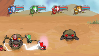 скриншот к Castle Crashers 2